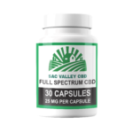 Bulk Sac Valley CBD Full Spectrum Capsules 25mg/30 Count