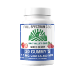 Bulk Sac Valley CBD Full Spectrum Gummy's 25mg ea 30 Count 750mg