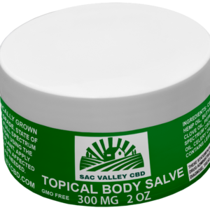 Sac Valley CBD Full Spectrum Topical Salve 300mg 2oz